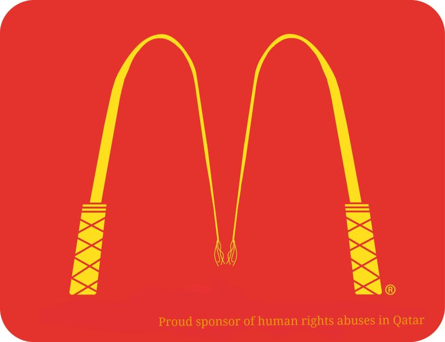 Details of People Make Anti Logos To Urge Sponsors To ...