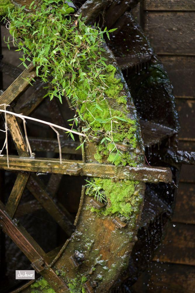Small waterwheel on Behance