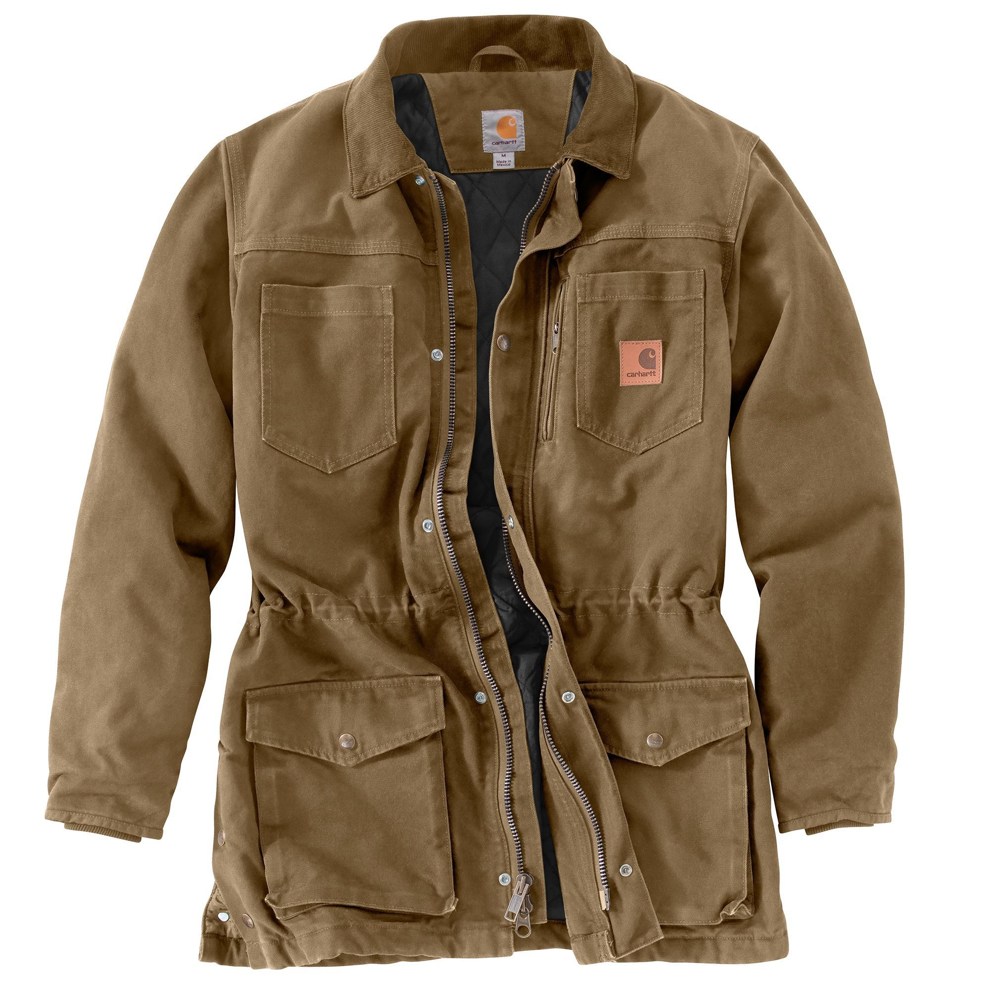 f9fe20876a0 Carhartt Mens Canyon Coat 101683 Frontier Brown