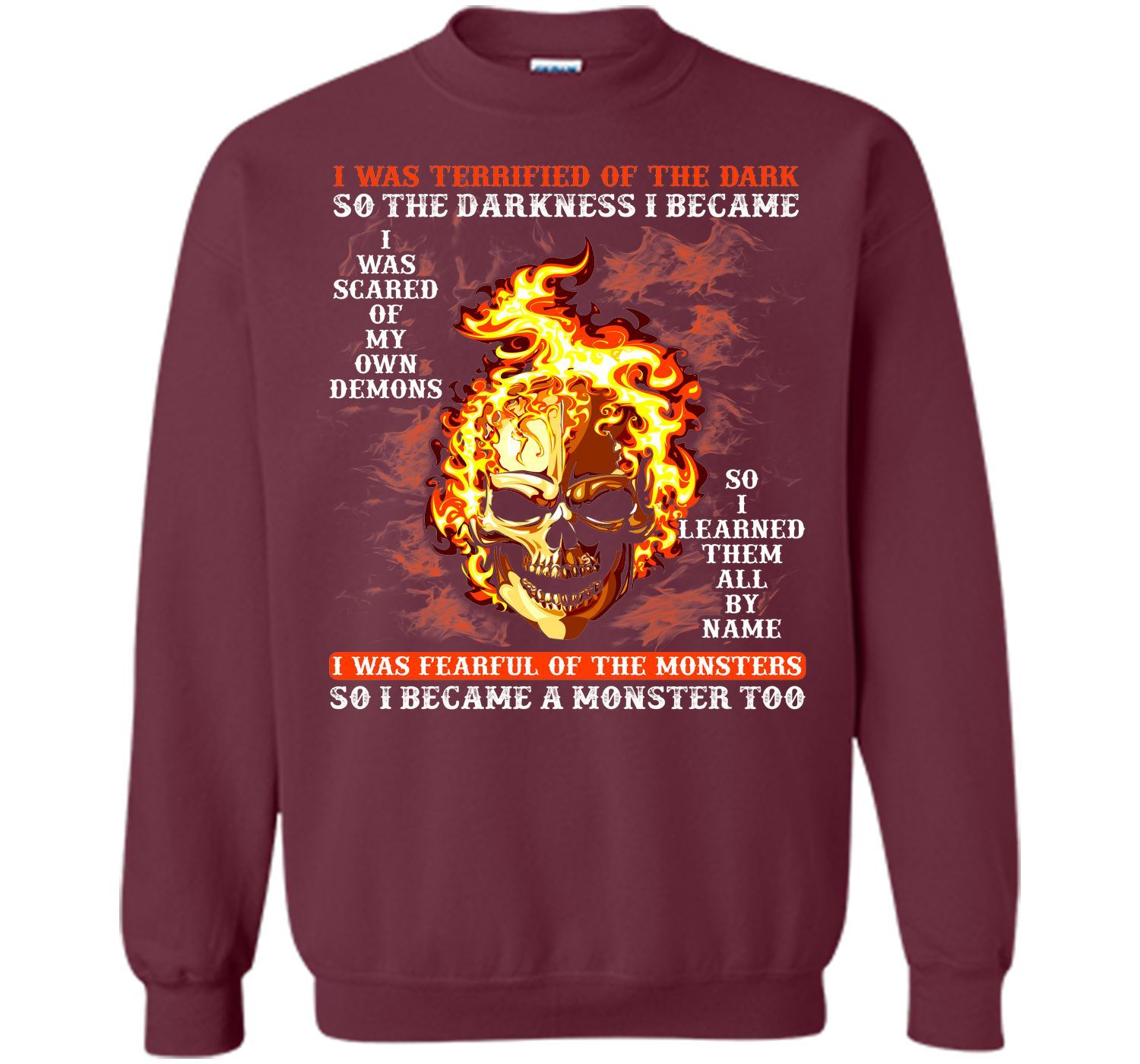 I BECAME THE MONSTER LIKE THAT T Shirt T-Shirt