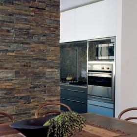 Ledgestone Rustic Multi Colour Split Face Tiles Interior Wall