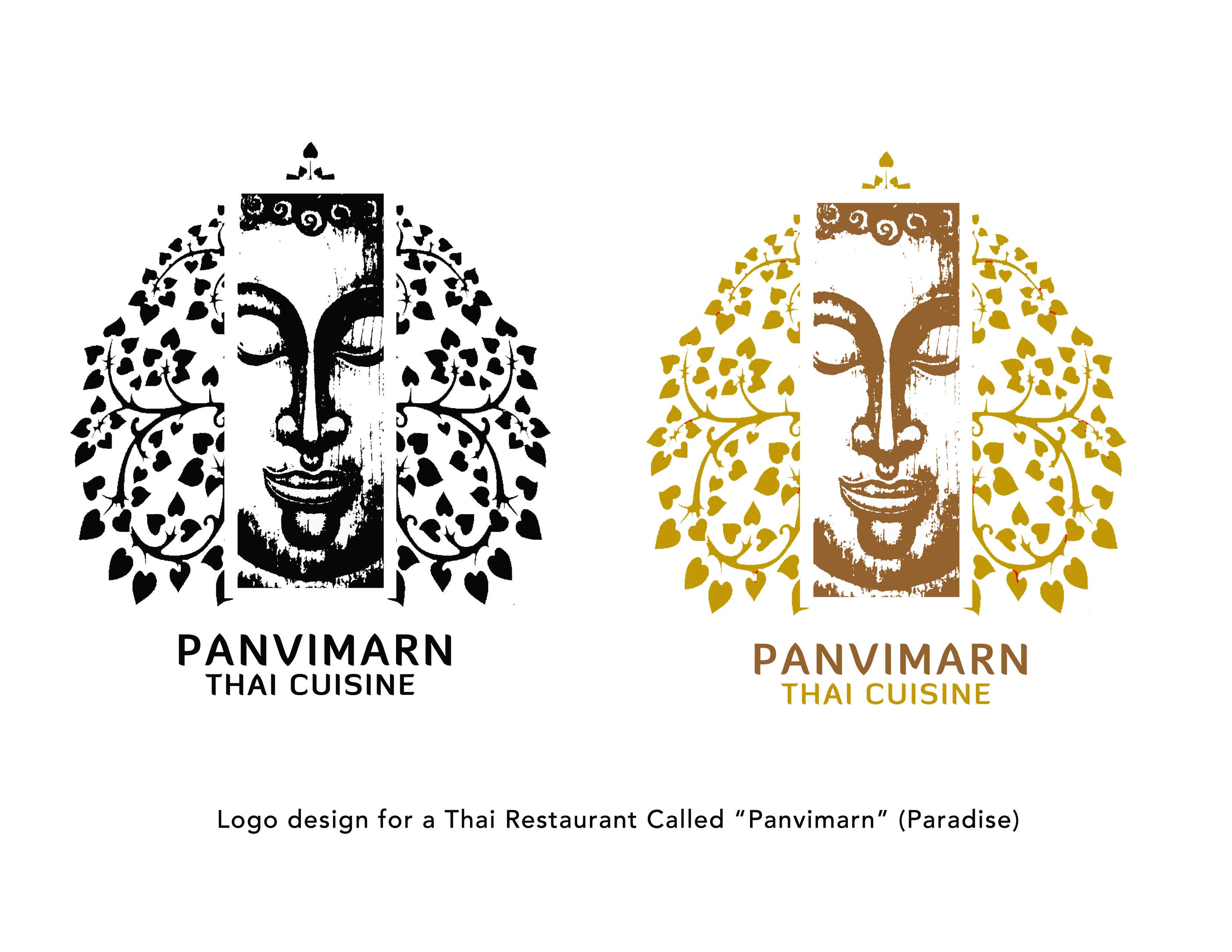 Logo - Thai Restaurant | Tana\'s Works | Pinterest | Thai restaurant ...