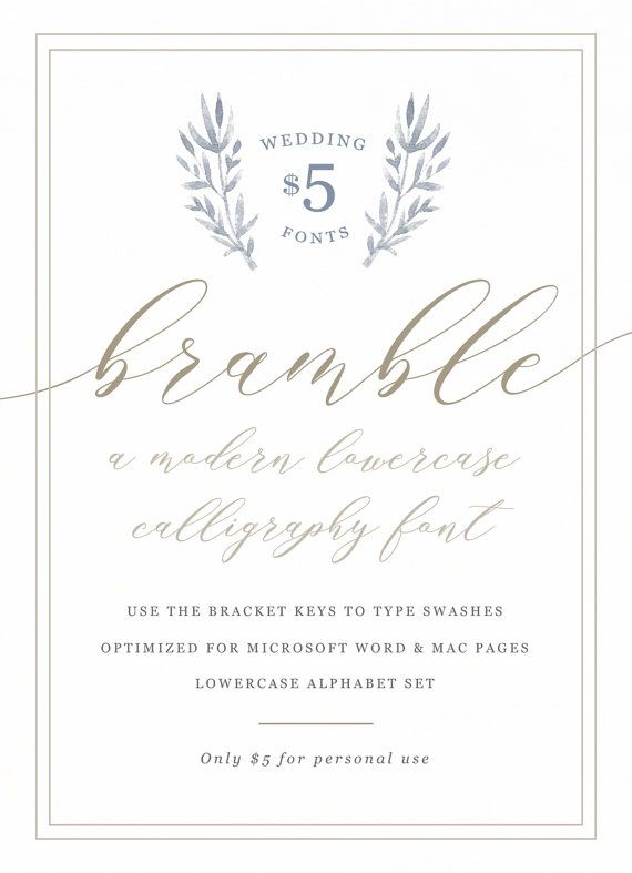 a lovely and inexpensive wedding calligraphy script font optimized