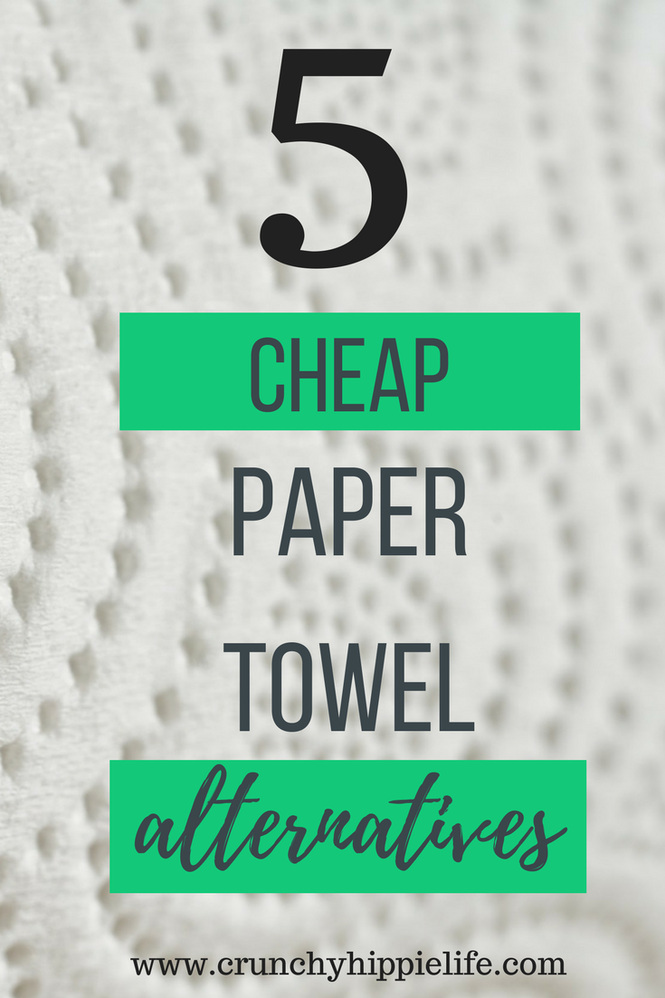 Save money when you stop buying paper towels and switch to one of these eco-friendly options!