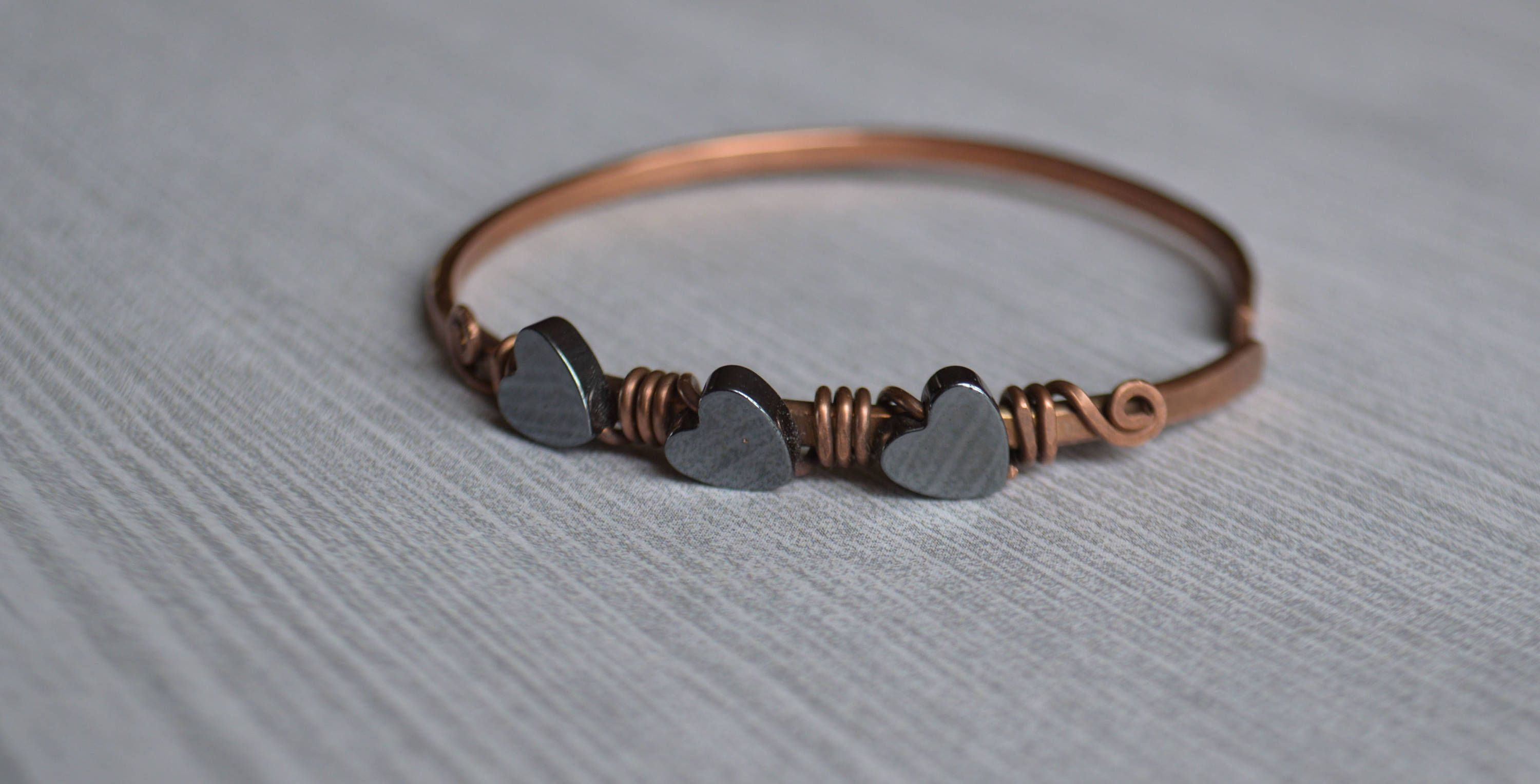 Christmas gift-for-Wife Clothing gift-for-Her Copper Wire Bracelet ...