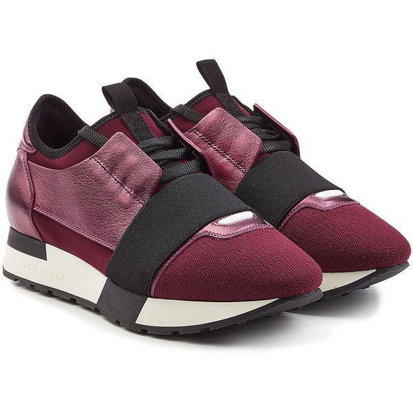 balenciaga shoes purple