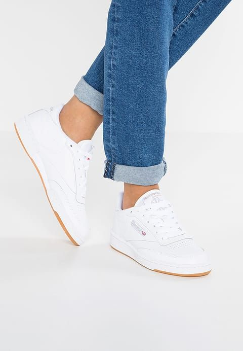 a583f995c372d Chaussures Reebok Classic CLUB C 85 - Baskets basses - white light grey  blanc  89