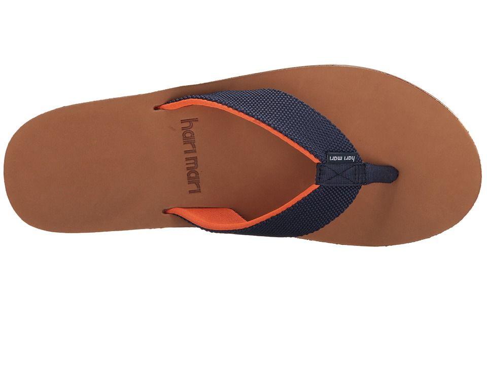 d833bff4fad6cd Hari Mari Scouts Men s Sandals Navy Orange