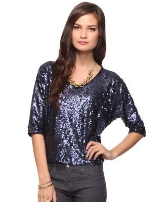 Sequin Party Top - StyleSays