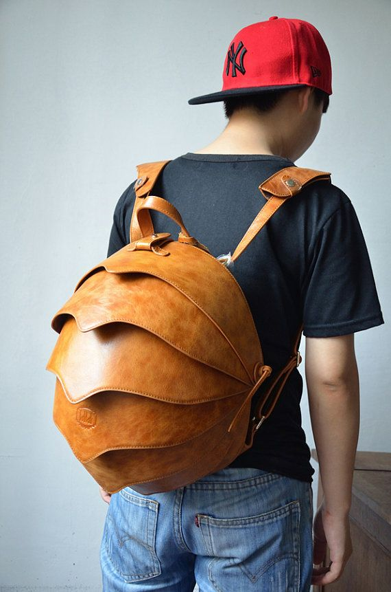 9d0378ea97 Beetle leather backpack. Hey