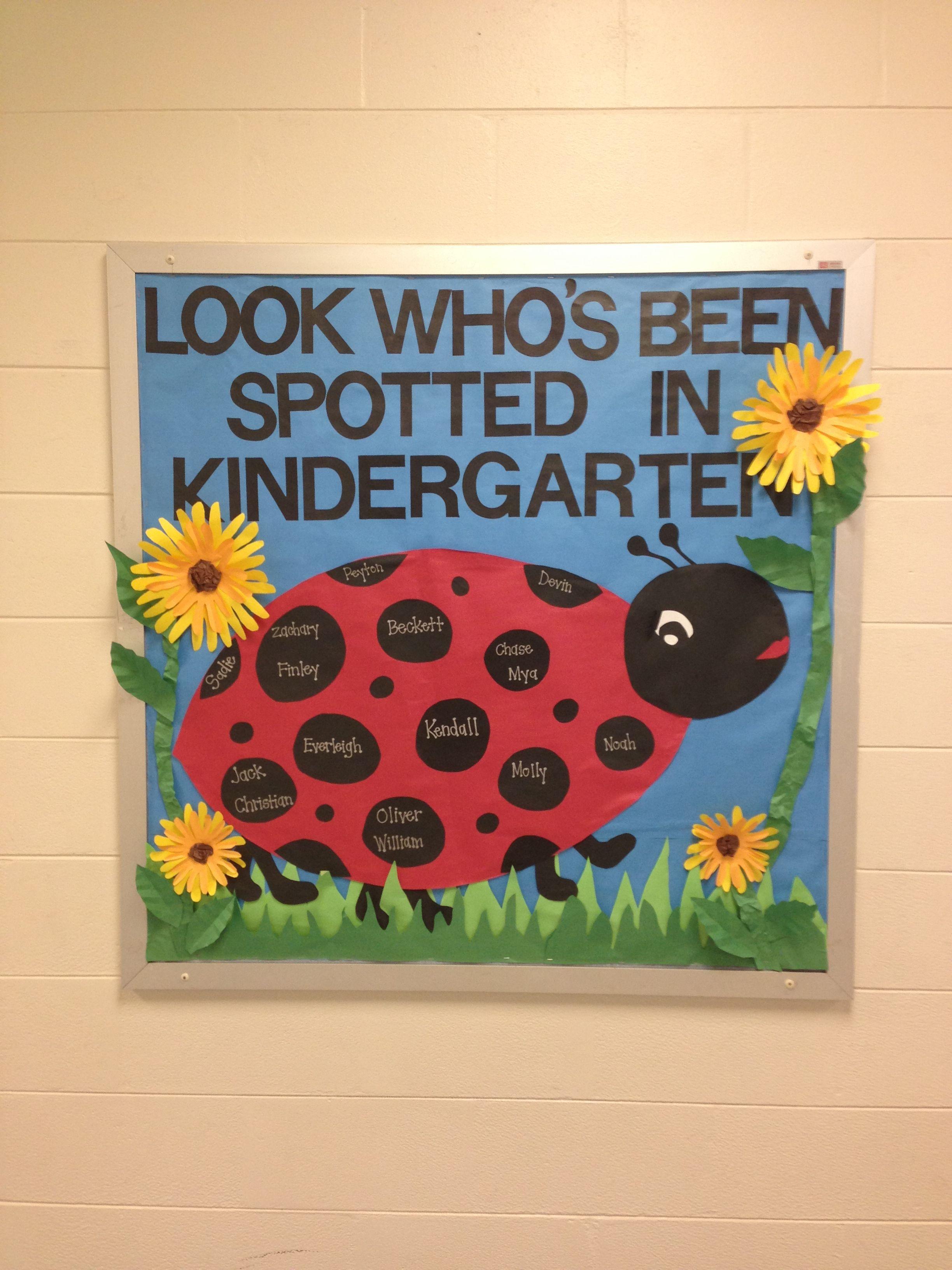 Classroom Welcome Ideas : Welcome to class ladybug classroom theme pinterest