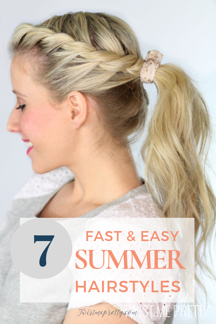 7 of the Best Summer Hairstyles