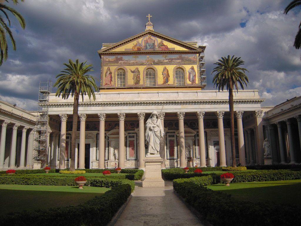 Basilica Di San Paolo Fuori Le Mura Rome Italy Best Of Italy Rome