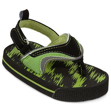 d5094126e240 Okie Dokie® Toddler Boys Green Sandals - jcpenney