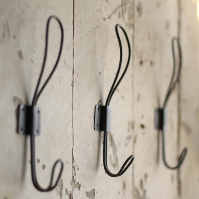 Zinc coat hooks £4 @ Loop the Loop | Mudroom | Pinterest | Coat ...