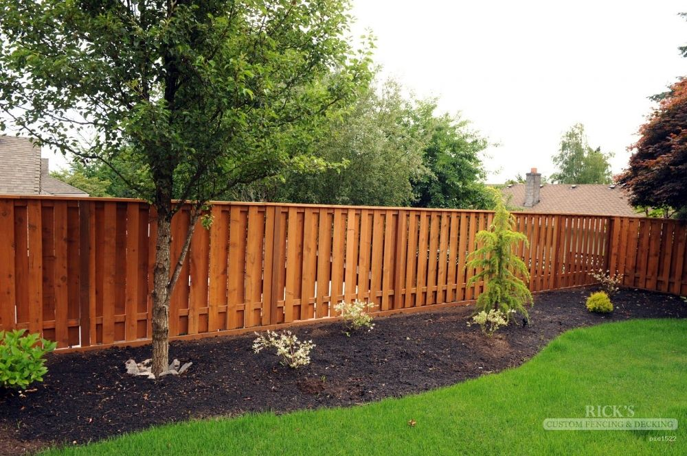 Hopefully this is what the yard will look like once the for Decorative fences for backyards