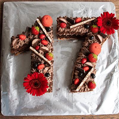 Zahlentorte Numbers Cake Kuchenmomente Rezept Geburtstagstorten Rezepte Kuchen Madchen Kuchen