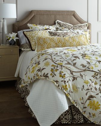 French Laundry Home Yasmine Bed Linens I Love The Yellow With