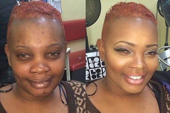 Black Girl Makeup Before And After Google Search Before After