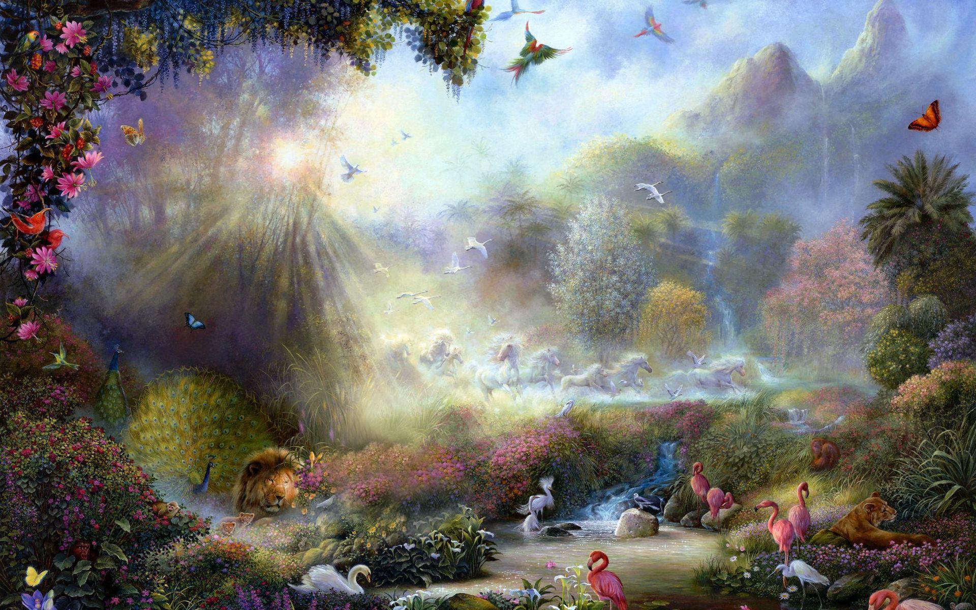 Paradise At Last With Images Akiane Kramarik Paintings