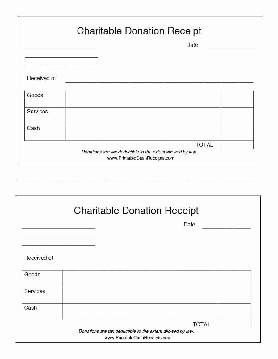 Nonprofit Donation Receipt Template Luxury 40 Donation Receipt Templates Letters Goodwill Non Donation Letter Receipt Template Donation Form