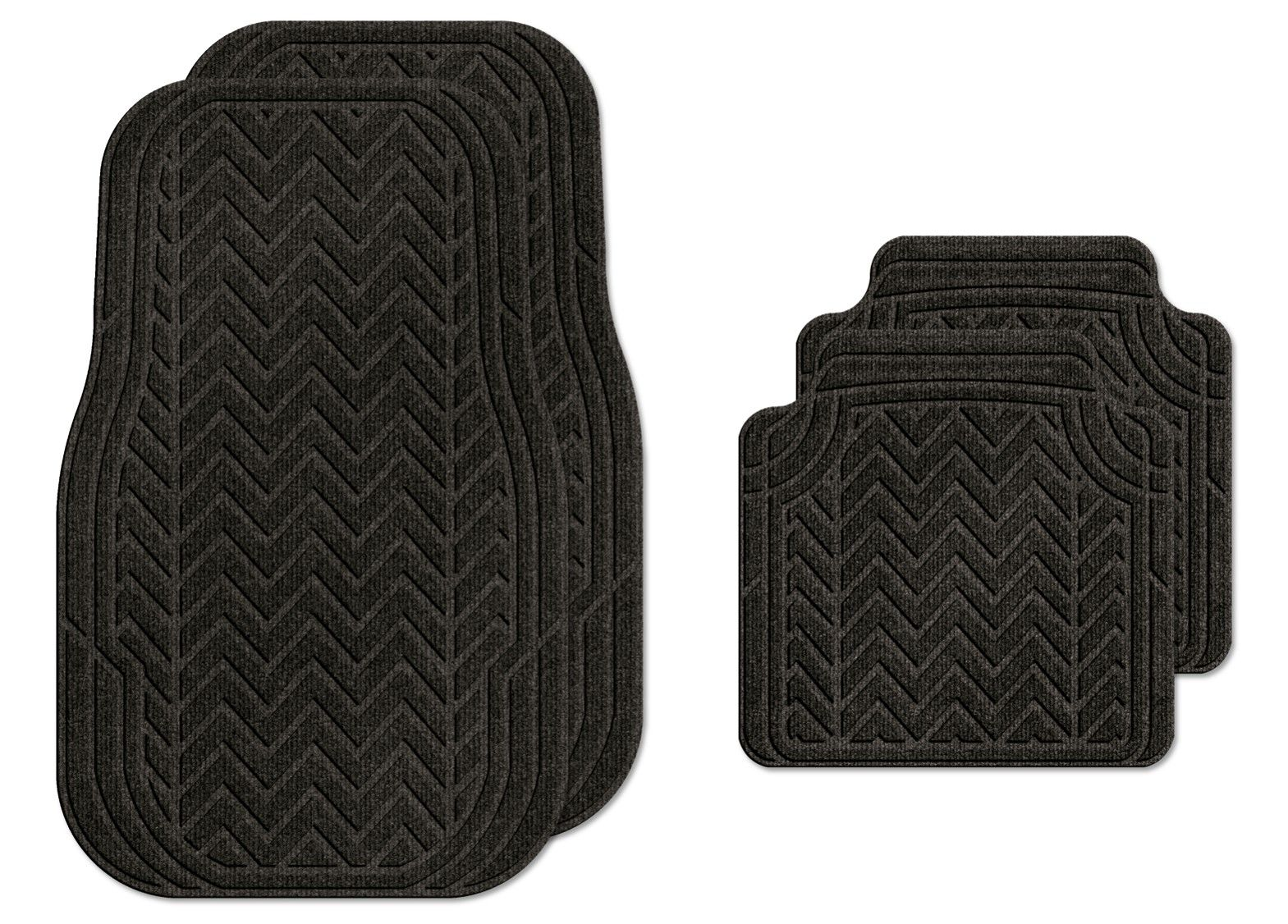 Textrel Machine Washable Car Mat Textrel S Waterhog Product Is Manufactured With The Most Absorbent Materials Protecting Your Ve Chevron Car Mats Chevron Car