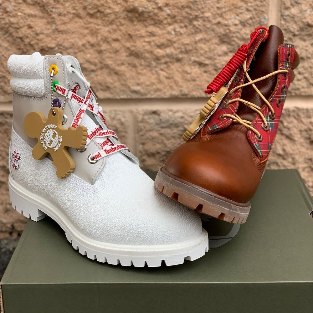 Timberland Men S Premium 6 Boots Limited Holiday Edition Sugar Spice Timberland Ankleboots Winter Leather Boots Timberlands Women Timberland