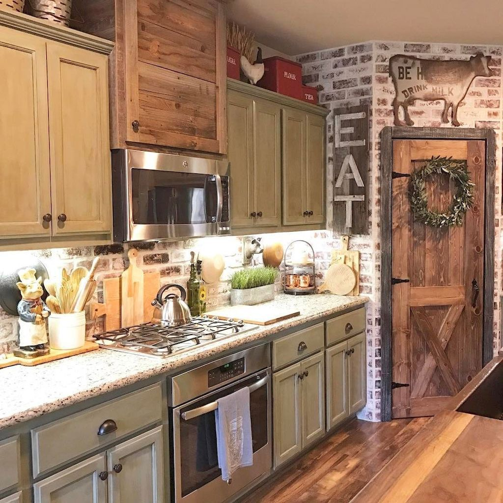 97 modern farmhouse kitchen cabinet makeover design ideas farmhouse kitchen colors country on kitchen cabinets farmhouse style id=75002