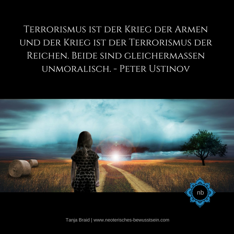 Terrorismus Peter Ustinov Spirituelle Zitate Spruche