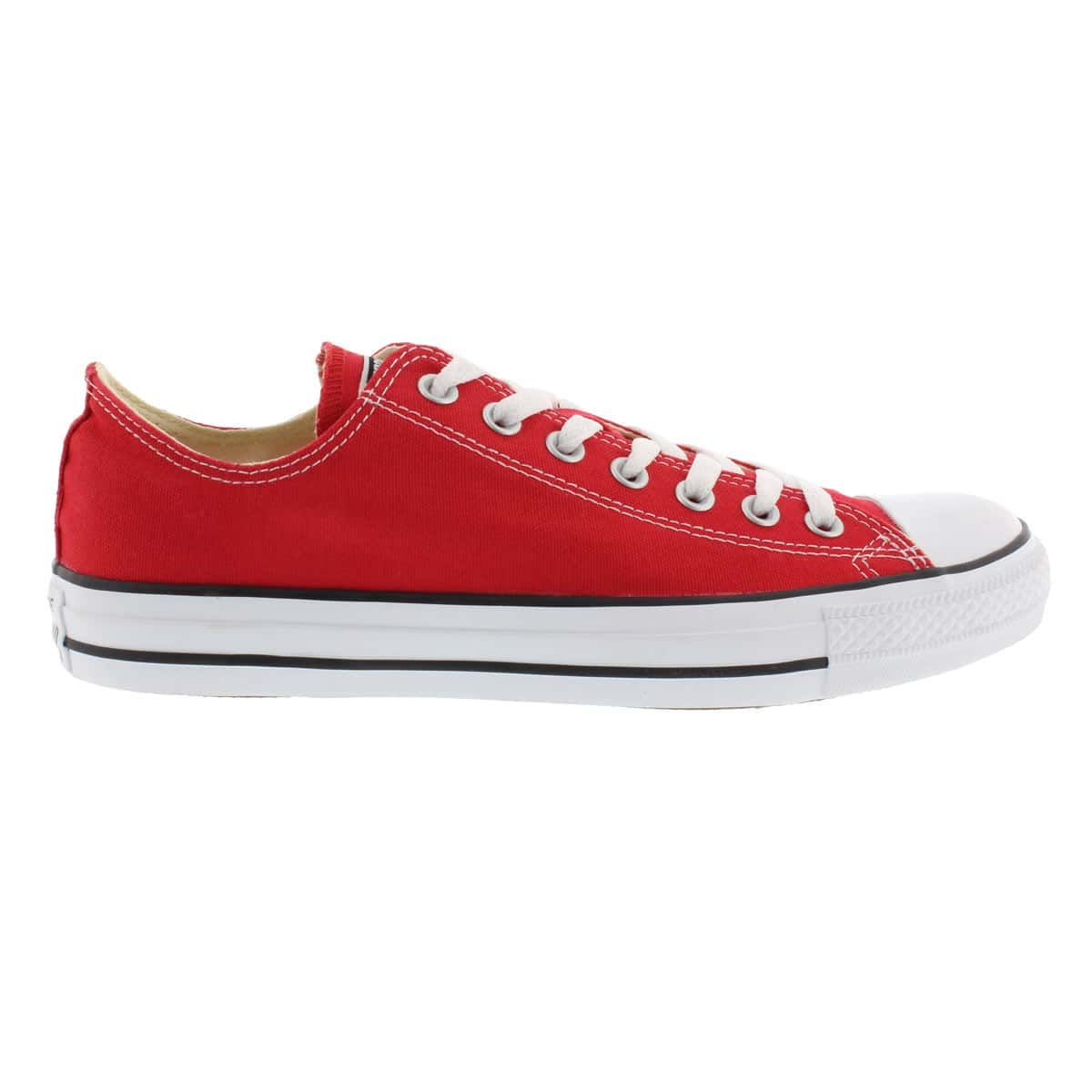 d7a578b162bd Converse Women s CHUCK TAYLOR CORE OX red sneakers M9696