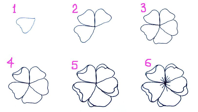 How To Draw A Cherry Blossom Tree In Pencil Cherry blossom drawing on