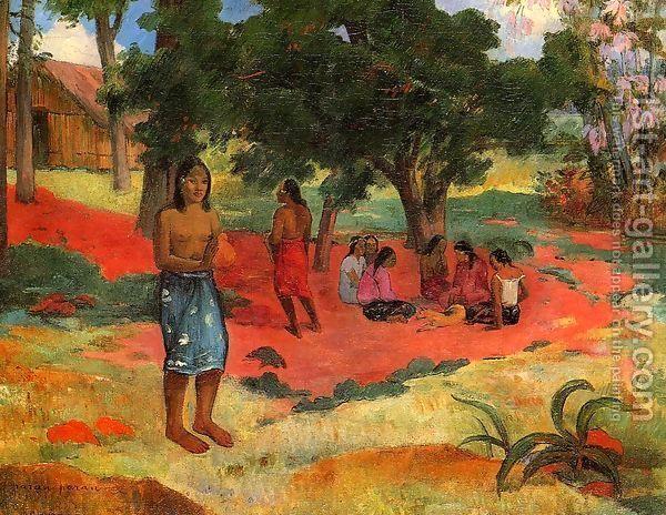 Paru Paru Aka Whispered Words Ii Paul Gauguin Famous