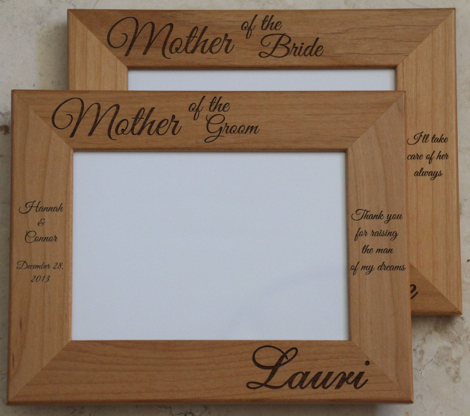 Mother Of The Bride Groom Picture Frame 2499 Everythingdecorated