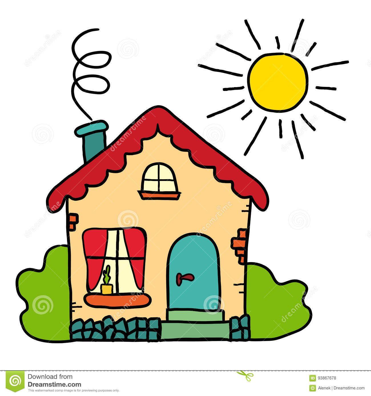 Pin De Raquel Corbella En Obrazky Kresbicky Dibujo De Casa Dibujos De Casas Infantiles Ninos Artisticos