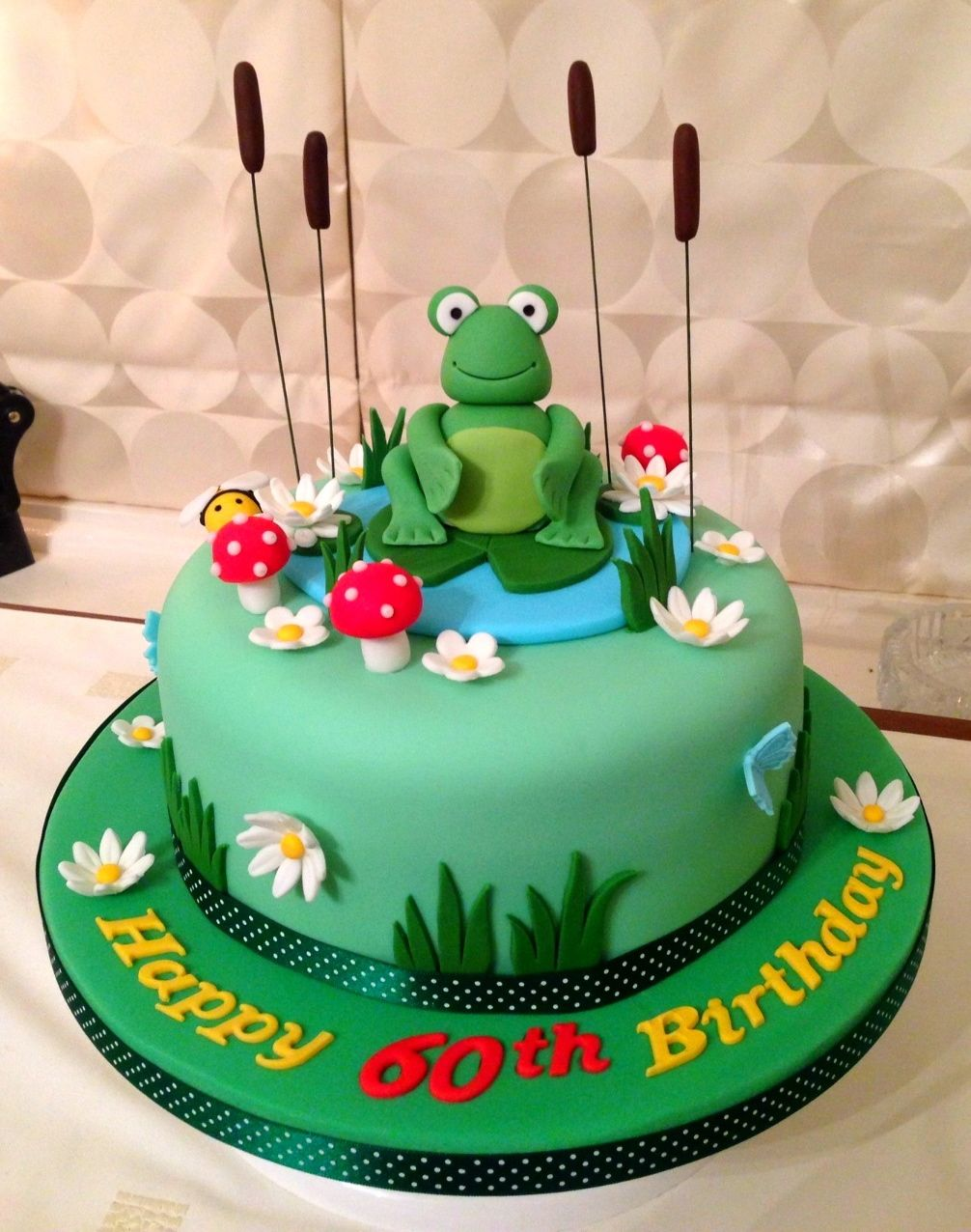 Frog Birthday Cake Favorite Recipes In 2018 Pinterest
