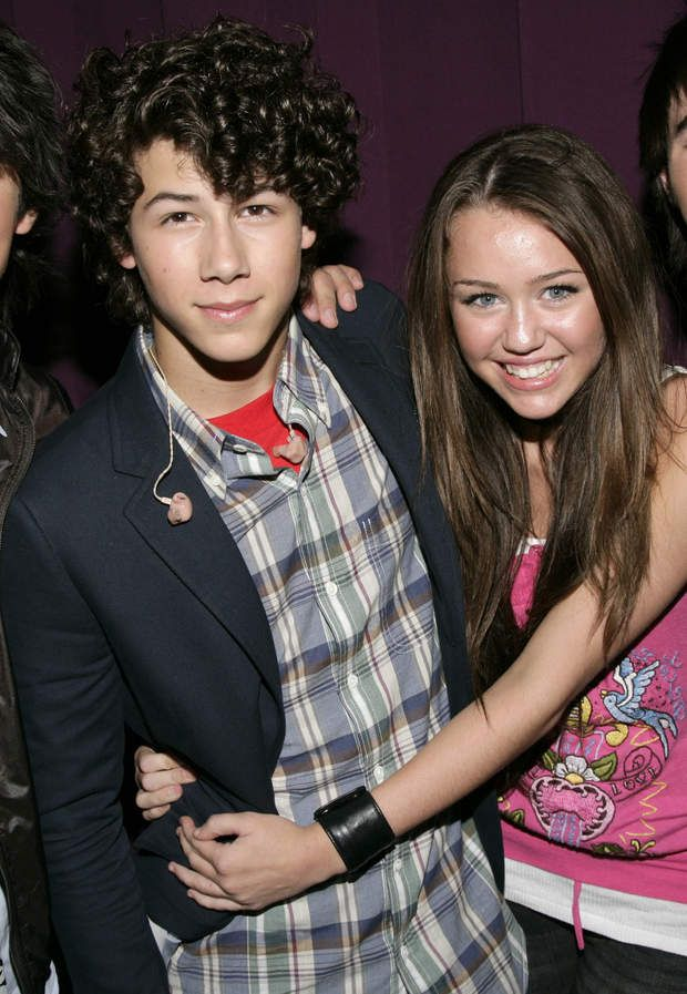 How long were miley and nick dating
