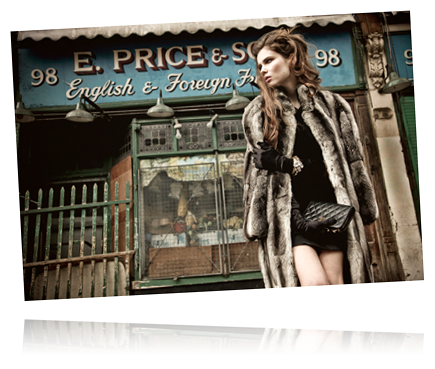 1980 Dior chinchilla coat