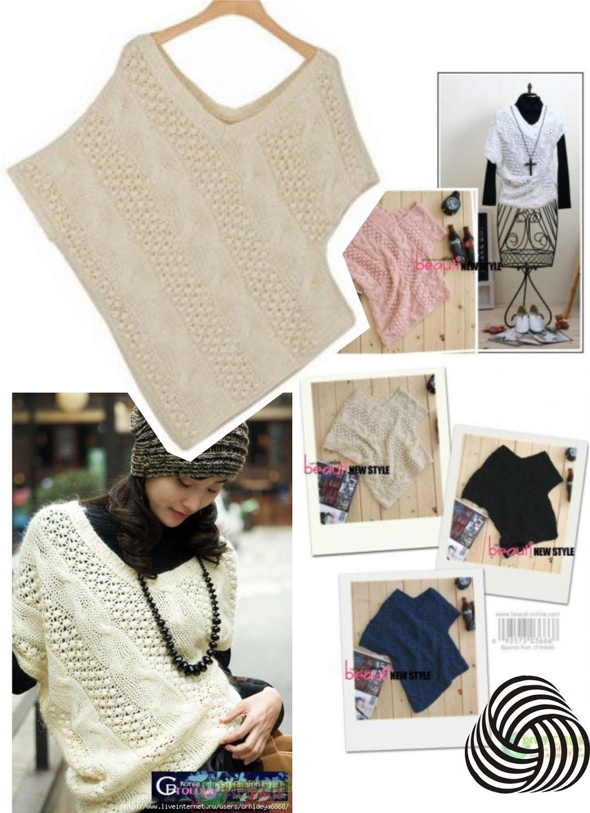 OUTBOX fashion@stuff | mis tejidos | Pinterest | Ponchos, Capilla y ...