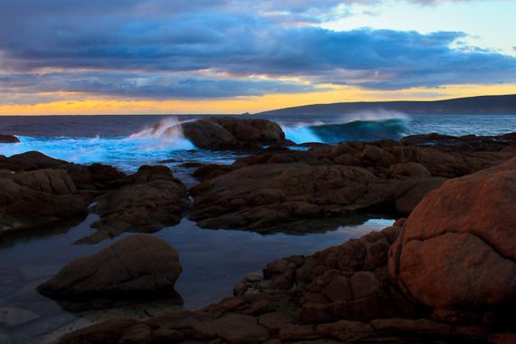 Smith's Point in West Australia's beautiful south west
