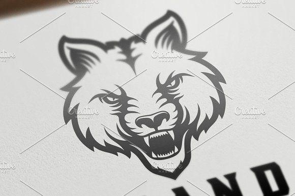wolf head v 2 creativework247 templates templates printable
