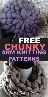 Photo of #chunkyknitting #chunkyyarn # need7free #beginner #knitting#designing #designers…