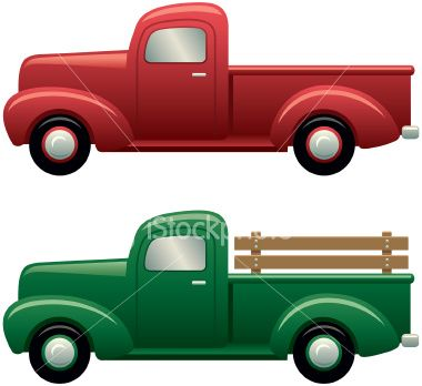 Pick Up Truck Clip Art Item 3 Vector Magz Free Download