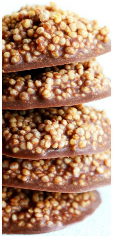 Chocolate Quinoa Crisps - Christina Makowsky -