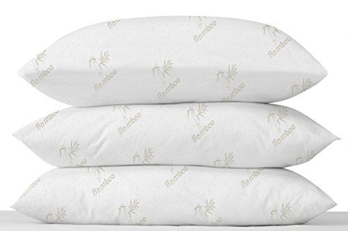 Amazon Com Top Rated Memory Foam Bamboo Bed Pillow Best