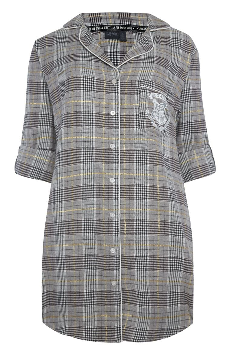 09d3844487d4a5 Primark - Harry Potter Check Night Shirt   PJ'S   Harry potter ...