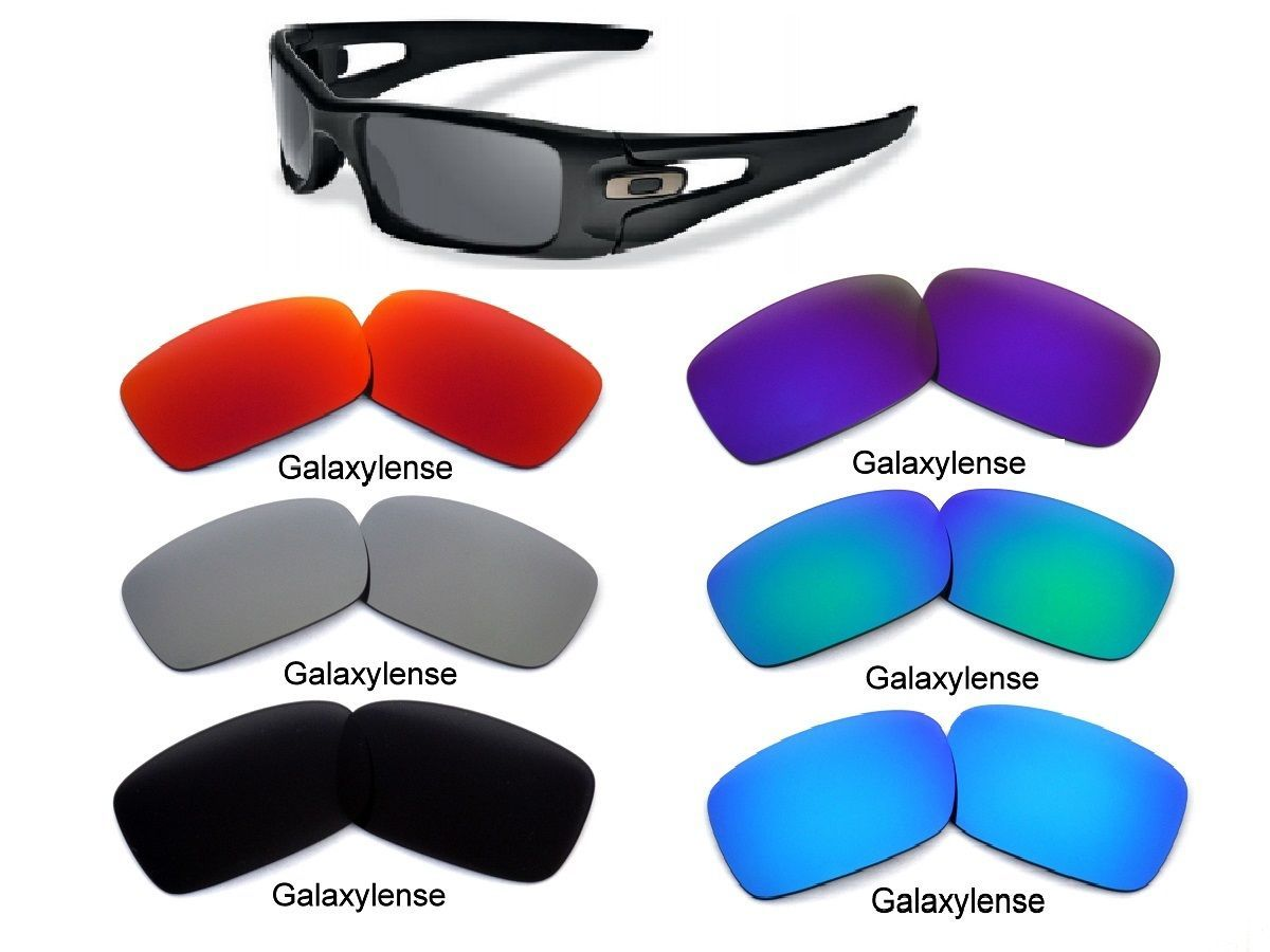 059700521c Galaxy Replacement Lenses For Oakley Crankcase Multi-Color Available  Polarized