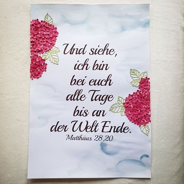 Matthäus 28,20