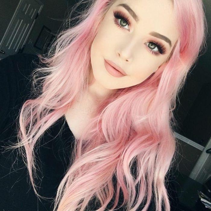 1001+ photos impressionnantes de cheveux rose foncé ou pastel