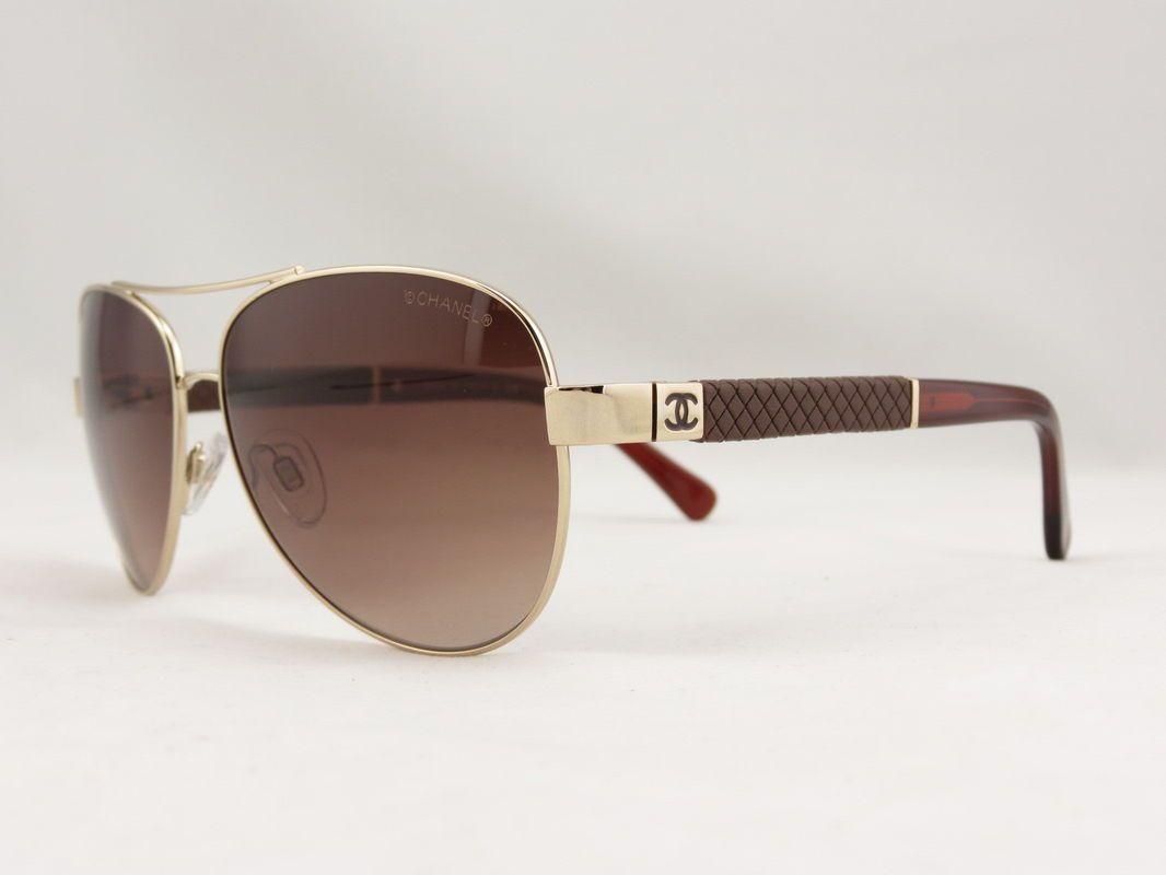 3ca8b41aa2cc Chanel Aviators 4195 | My Style | Chanel sunglasses, Sunglasses, Chanel