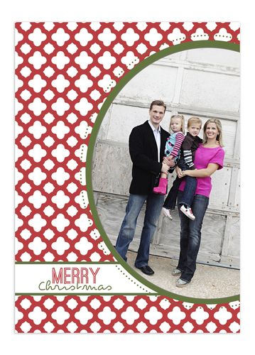 Christmas Card Template - download